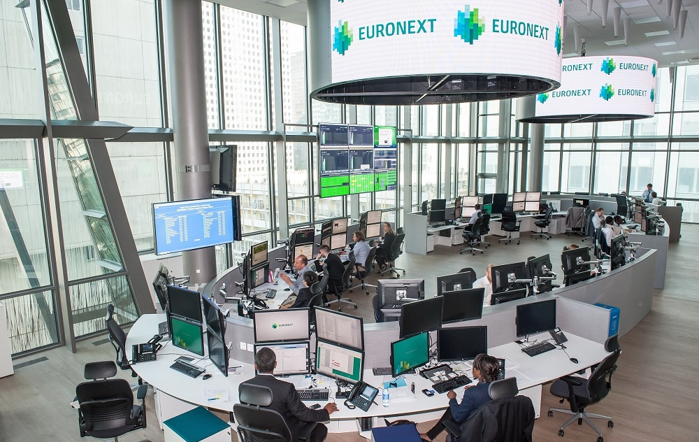 Euronext posts 73% rise in Q1 trading revenue in volatile markets