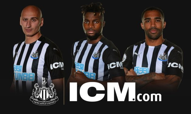 ICM.com becomes sleeve sponsor of Newcastle United FC